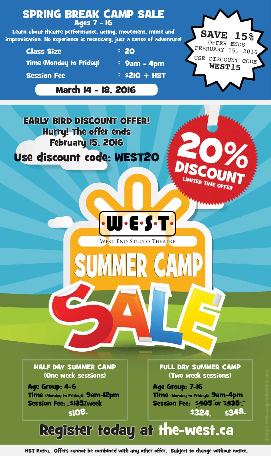 WEST CAMP PROMO AD 2016